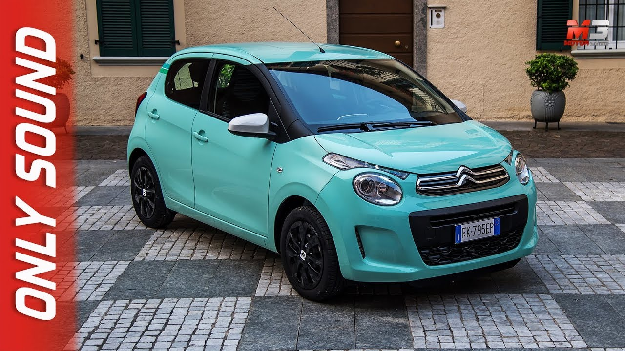 NEW CITROEN C1 2019 - FIRST TEST DRIVE ONLY SOUND - YouTube