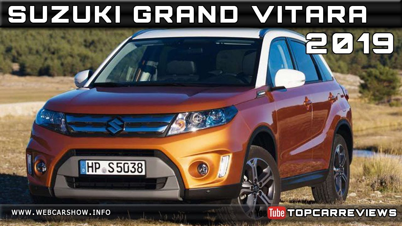 2019 suzuki grand vitara review rendered price specs. Black Bedroom Furniture Sets. Home Design Ideas