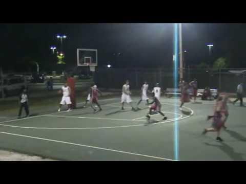 SAMMY O'GARRO Cayman Islands Basketball Association O'Garro hits game winner
