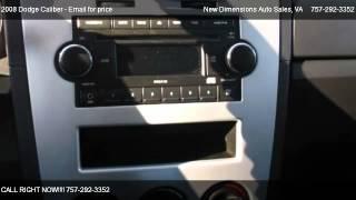 2008 Dodge Caliber SXT - for sale in VA Beach, VA 23511