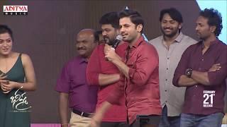 Nithiin Making Fun With Rashmika @ Bheeshma Pre Release Event