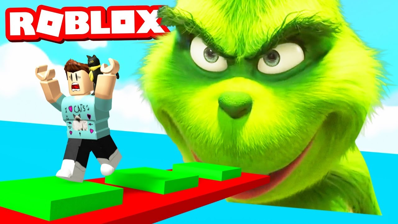 Escape The Grinch Obby In Roblox Youtube