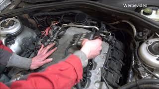 Verpfuschte Prins Anlage am Mercedes S500 mit M113 Motor