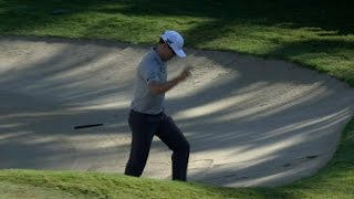 Zach Johnson holes out for eagle at Sony Open