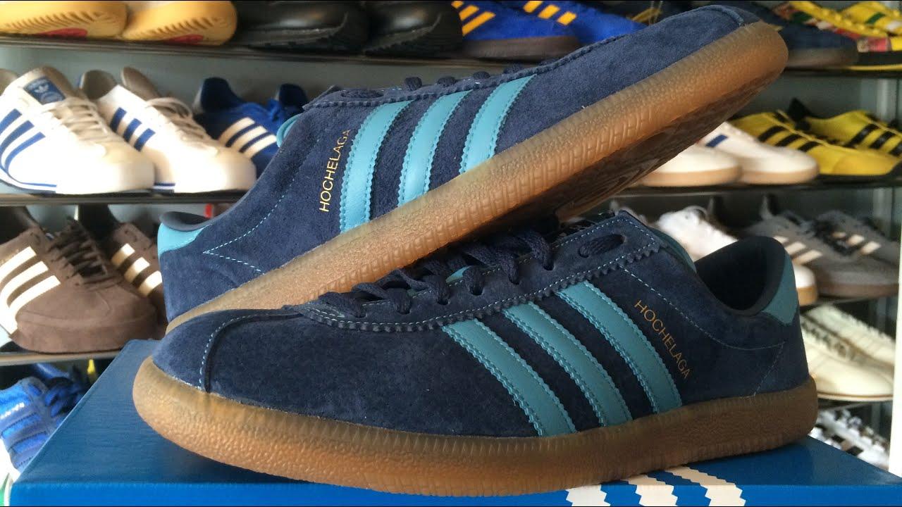 big sale 3e4a0 598c3 Adidas Hochelaga SPZL (unboxing & on foot) - YouTube