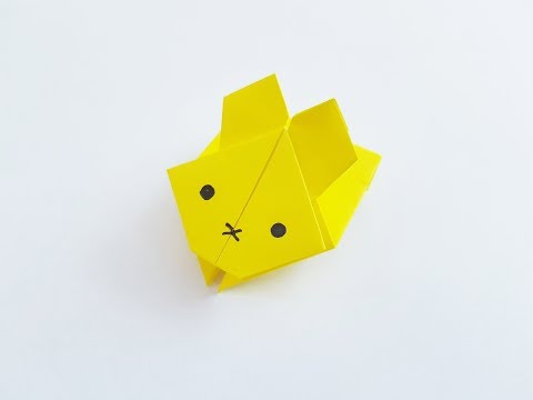 How to Make Origami Jumping Rabbit   Luis Craft
