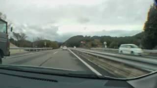 西九州自動車道 下り 武雄南本線料金所→波佐見有田IC 2010/03/25撮影