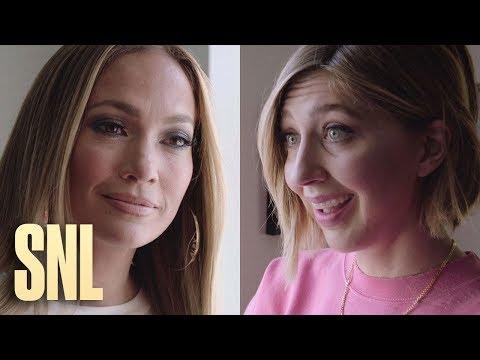 SNL Host Jennifer Lopez and Heidi Gardner Try to Light the Rockefeller Center Christmas Tree