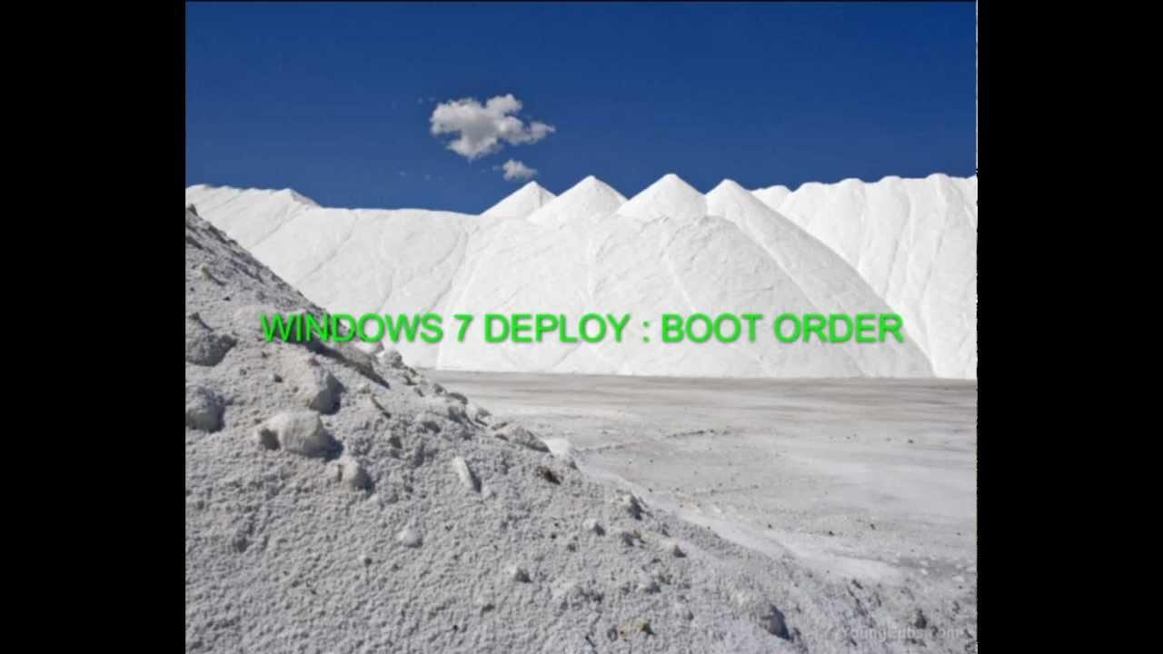 how to change boot order windows 7