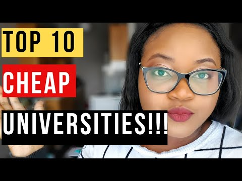 Cheap Universities In Canada For International Students 2020!!