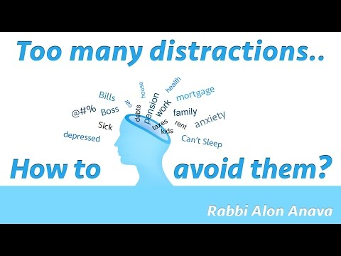 Pesach - how to avoid all the distractions in my life? - Rabbi Alon Anava