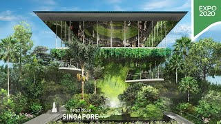 Step inside the Singapore Pavilion