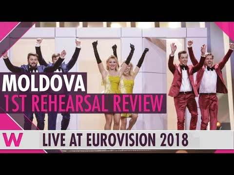 "Moldova First Rehearsal: DoReDos ""My Lucky Day""  @ Eurovision 2018 (Review) 
