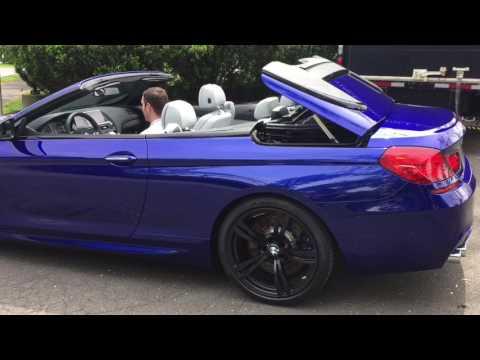 San Marino Blue M6 Convertible Bmw Of Greenwich