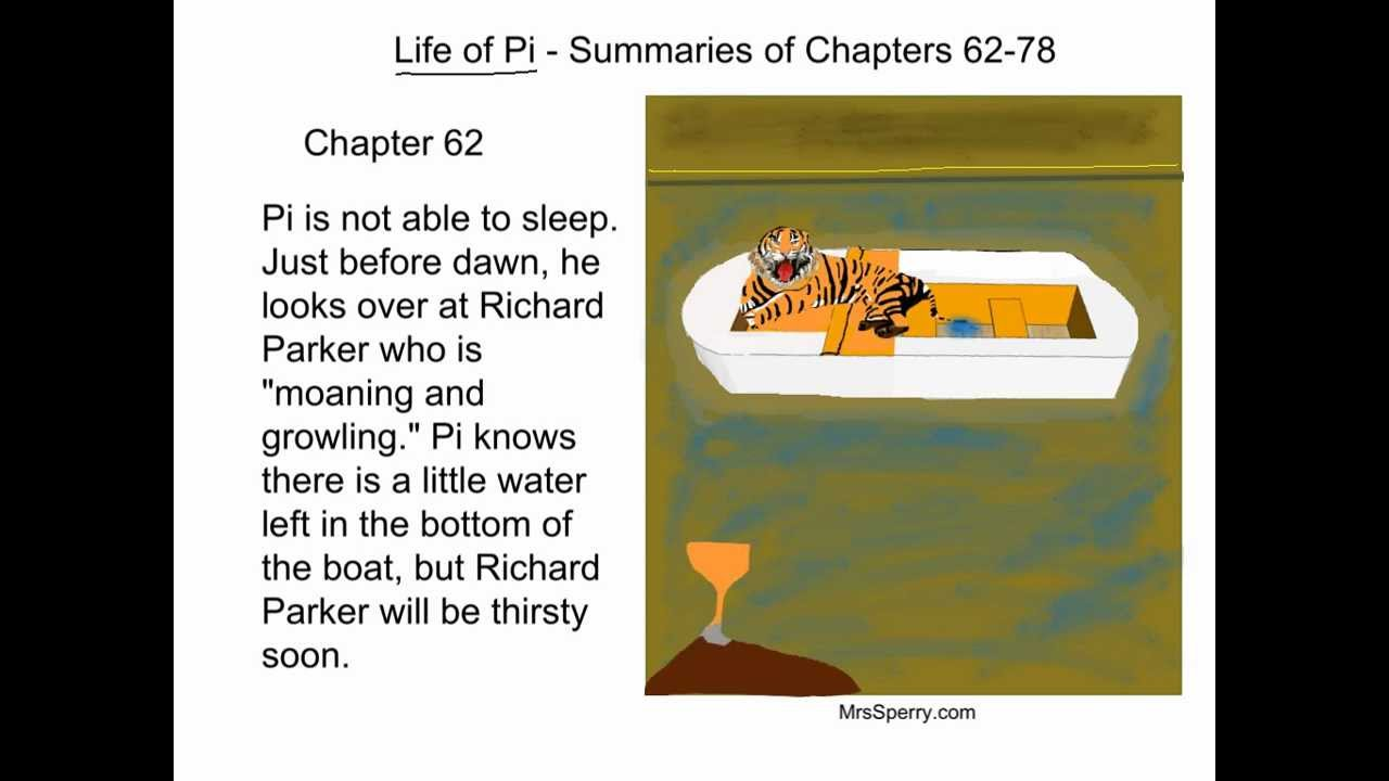 Life of pi summaries of chapters 62 78 youtube for Life of pi chapter summary