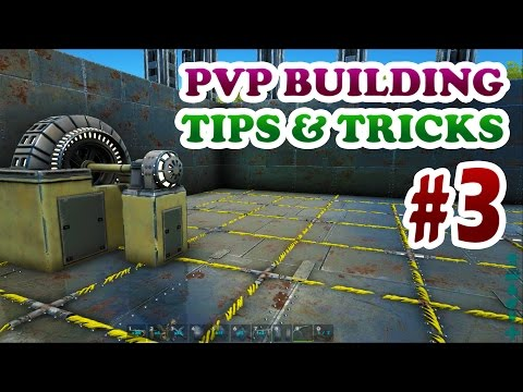 ARK | Advanced PVP Building Design Tips&Tricks Ep3 | Power Grid & Armored 6 Layers Roof