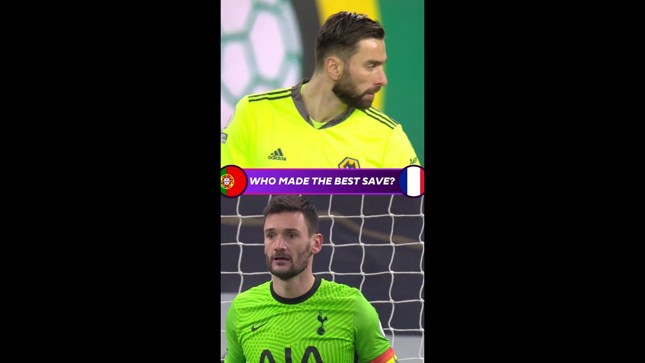 Who made the better save? | Portugal v France | Euro 2020