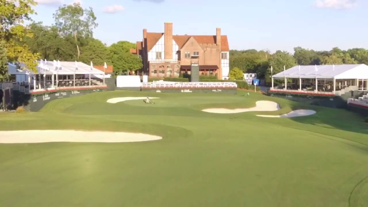 East Lake Golf Club Flyover: NEW #TOURChampionship Hole 18 ...