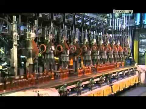 Как производятся стеклянные бутылки