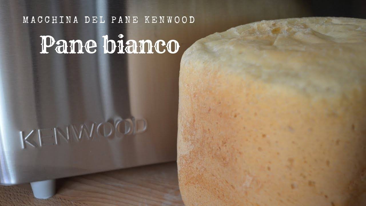 Pane bianco sapore ricco con la macchina del pane Kenwood BM 350