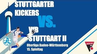 Oberliga BW, 15. Spieltag, Stuttgarter Kickers vs VfB Stuttgart II - Spielbericht