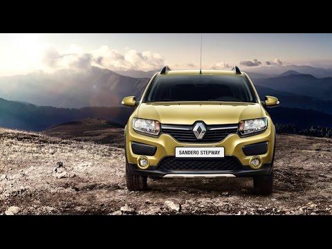 Тест драйв Renault Sandero Stepway 2015 Test Drive рено сандеро степвей