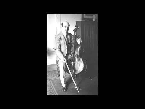 Pablo Casals - 6. Gigue from Cello Suite No.2 in D minor, BWV 1008, By J.S. Bach