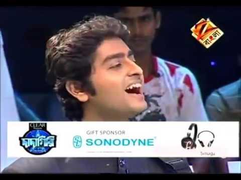 Arijit Singh Sings Bengali Song For Sourav...