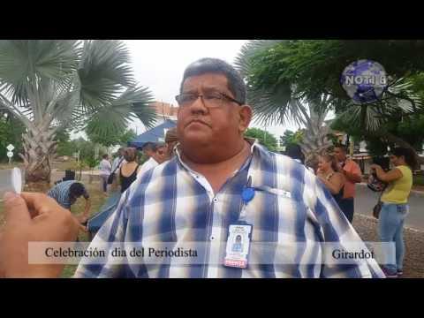 Alfonso Ramirez caracolito Dia del Periodista