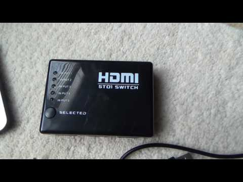 How To use a HDMI Switch - YouTube