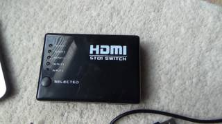 How To use a HDMI Switch