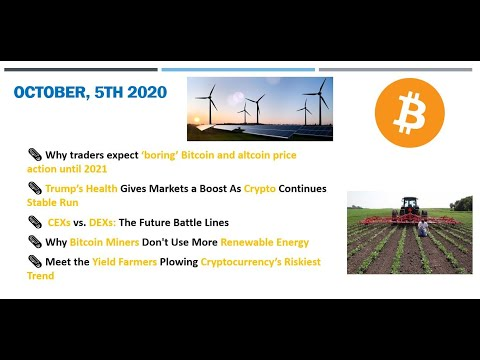 🗞 Daily Crypto News & Video, October, 5th💰