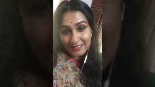 malayalam actress Kavitha Nair fb live