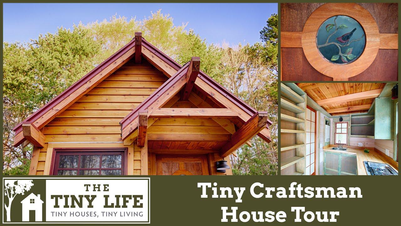 Tiny Home Designs: Tiny Craftsman House