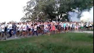 Хода ультрас динамо по набережной в одессе 14 07 2015