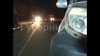 Пешеход попал под машину в южном промузле Хабаровска. Mestoprotv