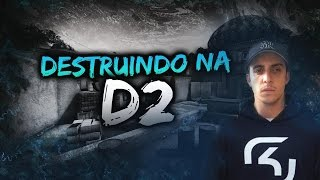 DESTRUINDO NA DUST 2 - CS:GO COMPETITIVO Ft Don Fiore, Oswaldeira e MuriloRT