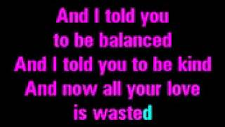 Birdy - Skinny love karaoke