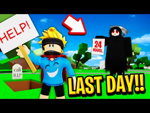 The LAST DAY in Roblox BROOKHAVEN RP!!