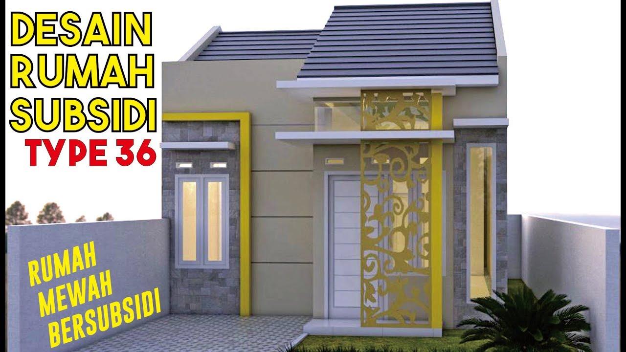 Desain Rumah Subsidi Type 36