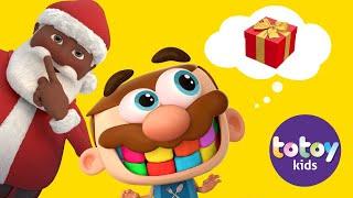 Totoykids Música de 🎁 Navidad🎅🏻Las Campanas!!! Muy Divertido Jose esperando a Santa!!!