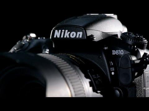 Présentation générale du Nikon D810