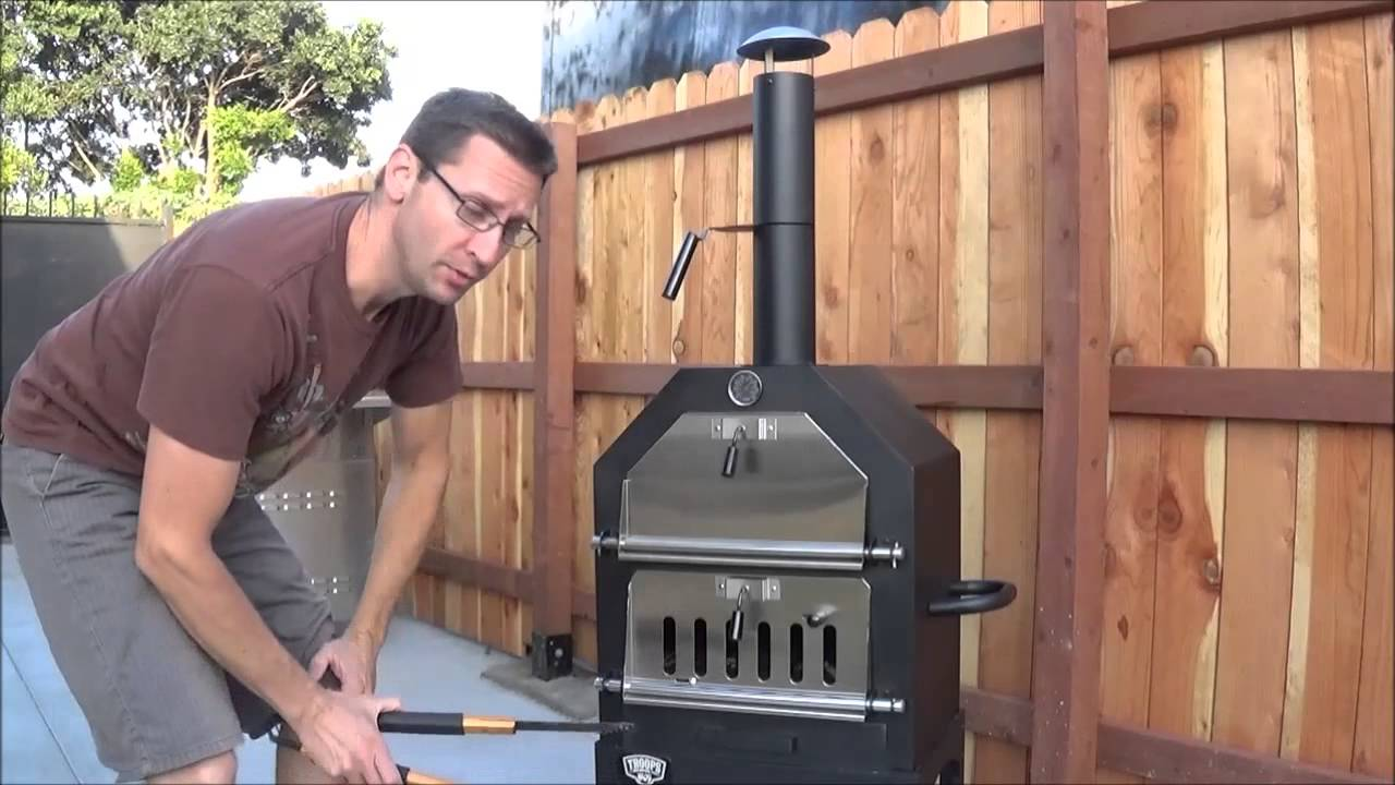 How To Cook Homemade Pizzas In The Troops Bbq Pizza Oven