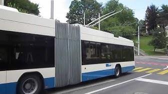 Luzern (Lucerne) trolleybuses 2018