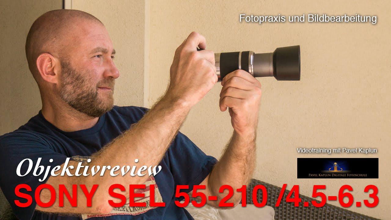 sony sel 55 210 4 5 6 3 objektivreview youtube. Black Bedroom Furniture Sets. Home Design Ideas