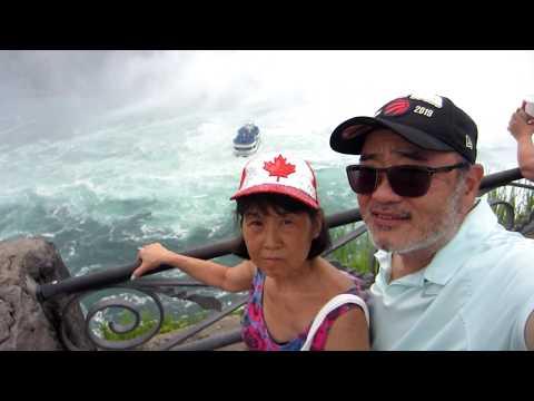 Niagara Falls Ontario Canada Tour - Whirlpool Rapids, Maple Leaf Place