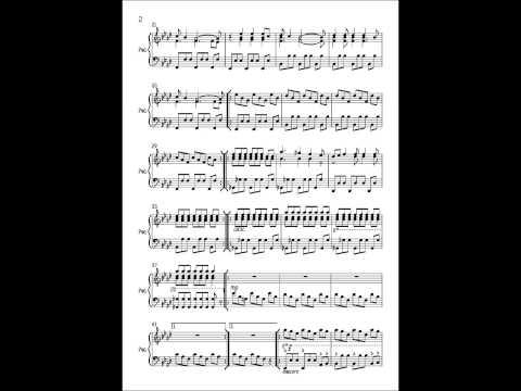 Clocks - Coldplay - Piano Cover (Sheet Music)