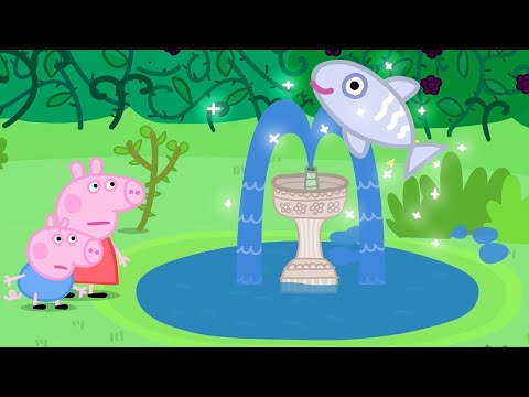 Peppa Pig English Episodes | Mystery Fountain! Peppa Pig Official