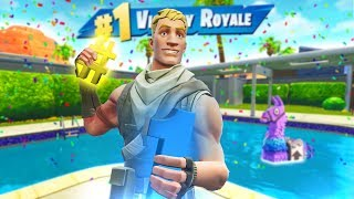 THIS happened for my 1000th WIN in Fortnite Battle Royale!