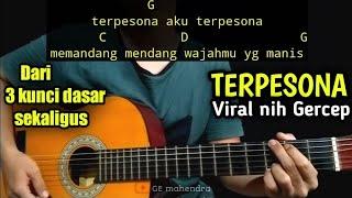 Kunci Gitar TERPESONA - Lagu Viral Tiktok | By GE Mahendra